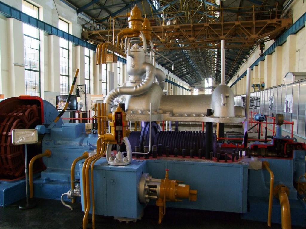 Az 1963-ban üzembe helyezett 6,6 MW-os gőzturbina 2006-ig üzemelt